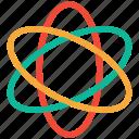 atom, atomic, chemistry, science icon