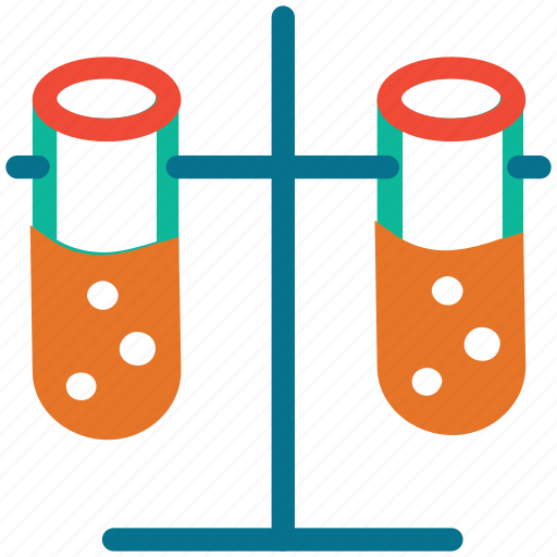 experiment, lab equipment, laboratory equipment, test tubes icon