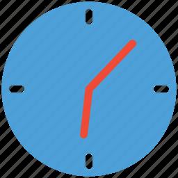 clock, round clock, timer, watch icon
