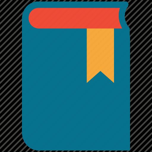 book, bookmark, education, study icon