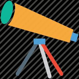 astronomy, scope, space, telescope icon