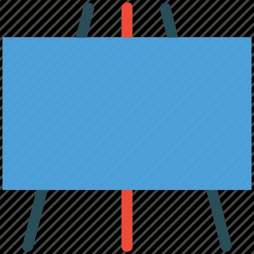 chalk board, design, easel, writing board icon