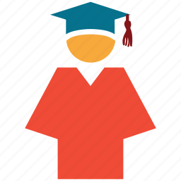 education, graduate, graduation, student icon
