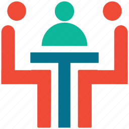 conference, deal, people, team icon