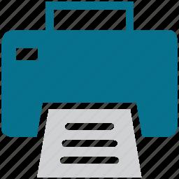 copier, fax, fax machine, printer icon