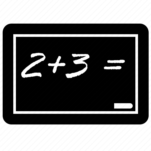 board, math icon