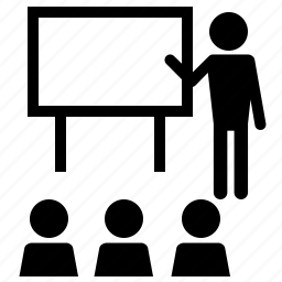 education, seminar, webinar icon