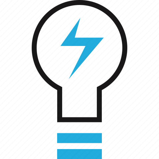 bulb, education, light, online icon