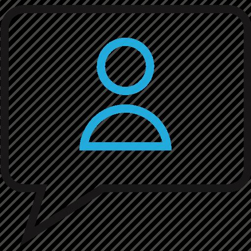education, online, profile, user icon