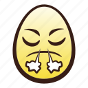 easter, egg, emoji, face, head, nose, steam icon