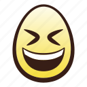 easter, egg, emoji, eyes, face, grinning, head icon