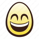 easter, egg, emoji, eyes, face, head, mouth icon