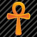 ankh, gold, life, ornament, texture