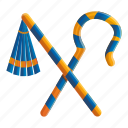 person, pharaoh, tools
