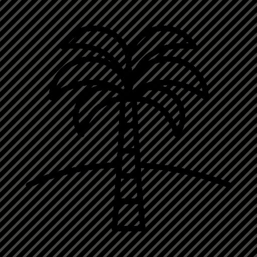 ancient, cairo, egypt, egyptian, history, palm tree, pharaoh icon