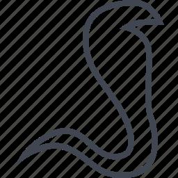 cobra, egyptian, hieroglyphs, snake icon