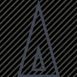 egyptian, hieroglyphs, power, pyramid icon