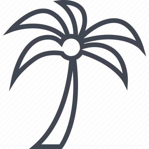 egyptian, hieroglyphs, palm, shade, tree icon