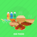 drink, eid, food, islam, ramadan, religion, vegetable icon