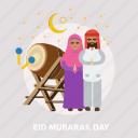 bedug, eid, islam, mubarak, muslim, ramadan, religion icon