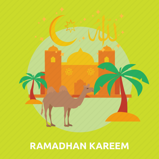 camel, eid, fasting, islam, kareem, ramadan, religion icon