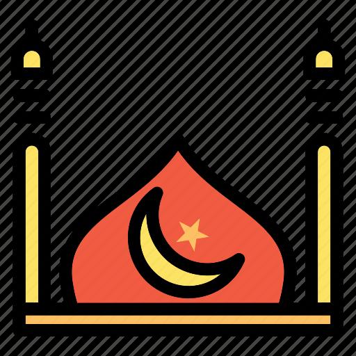 Mosque, islam, muslim, ramadan icon - Download on Iconfinder