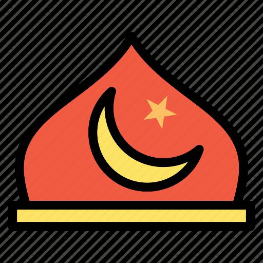Religian, islam, moon, mosque, muslim, prayer icon - Download on Iconfinder