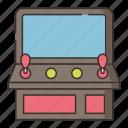 arcade, game, machine icon
