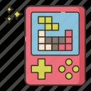 brick, game, tetris icon