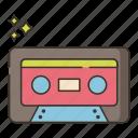 cassette, music, tape