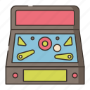 arcade, machine, pinball icon