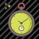 clock, pocket, watch