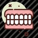 teeth, old, people, family