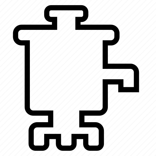 samovar, teapot icon
