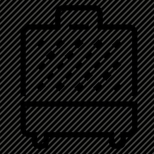 iron, waffle icon