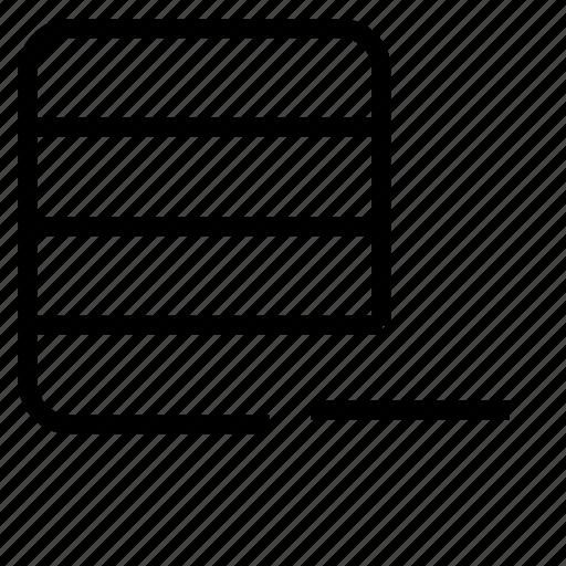 base, remove icon
