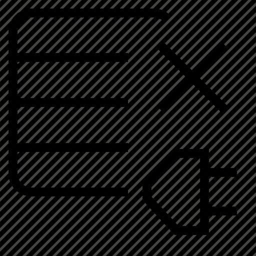 close, connect icon