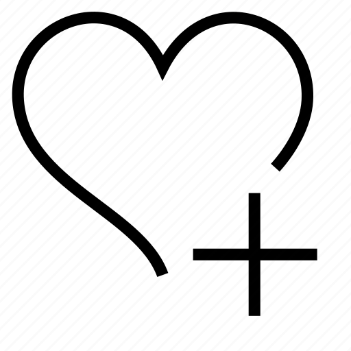 add, favorite, heart icon