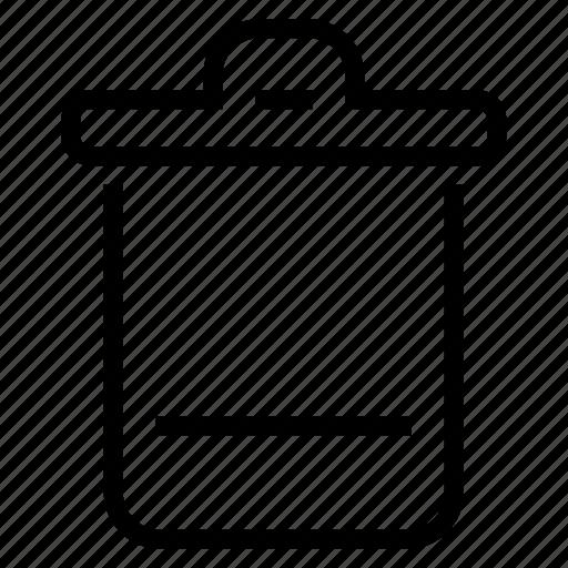 bin, recycle, recycle bin icon