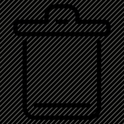 bin, empty, recycle, recycle bin icon