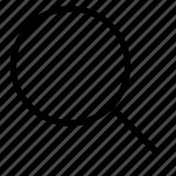 lense, search icon