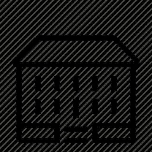 house, storey, two icon