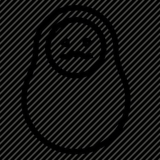 man, matreshka icon