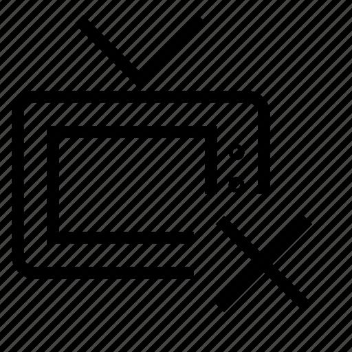 channel, delete icon