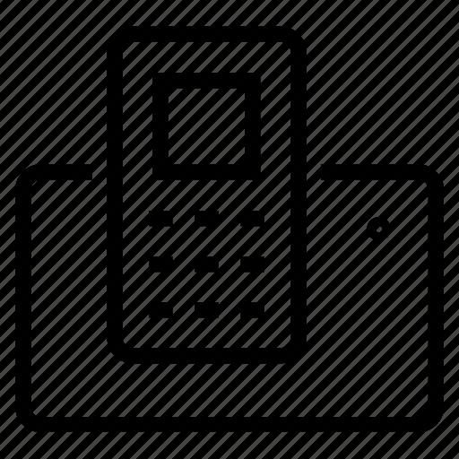 dec, phone icon