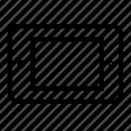 horizontal, landscape icon