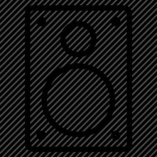 loudspeakers, speaker icon