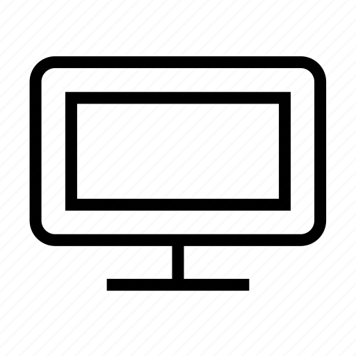 tv, wide icon
