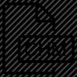 chm, mime type icon