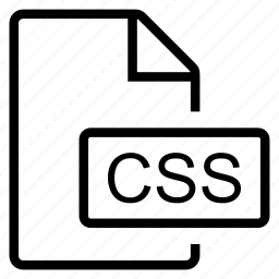 css, mime type icon